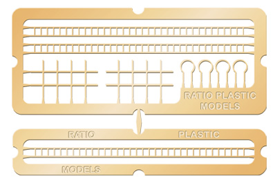 218 N GAUGE Signal Laddering (Etched Brass)