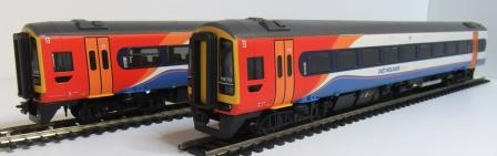 31-518 Class 158 East Midlands Trains