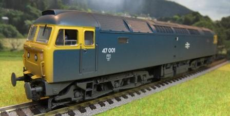 31-659 Class 47 Blue weathered