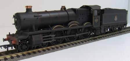 32-002A BR Hall weathered
