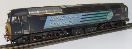 32-763A DRS Class 57 weathered