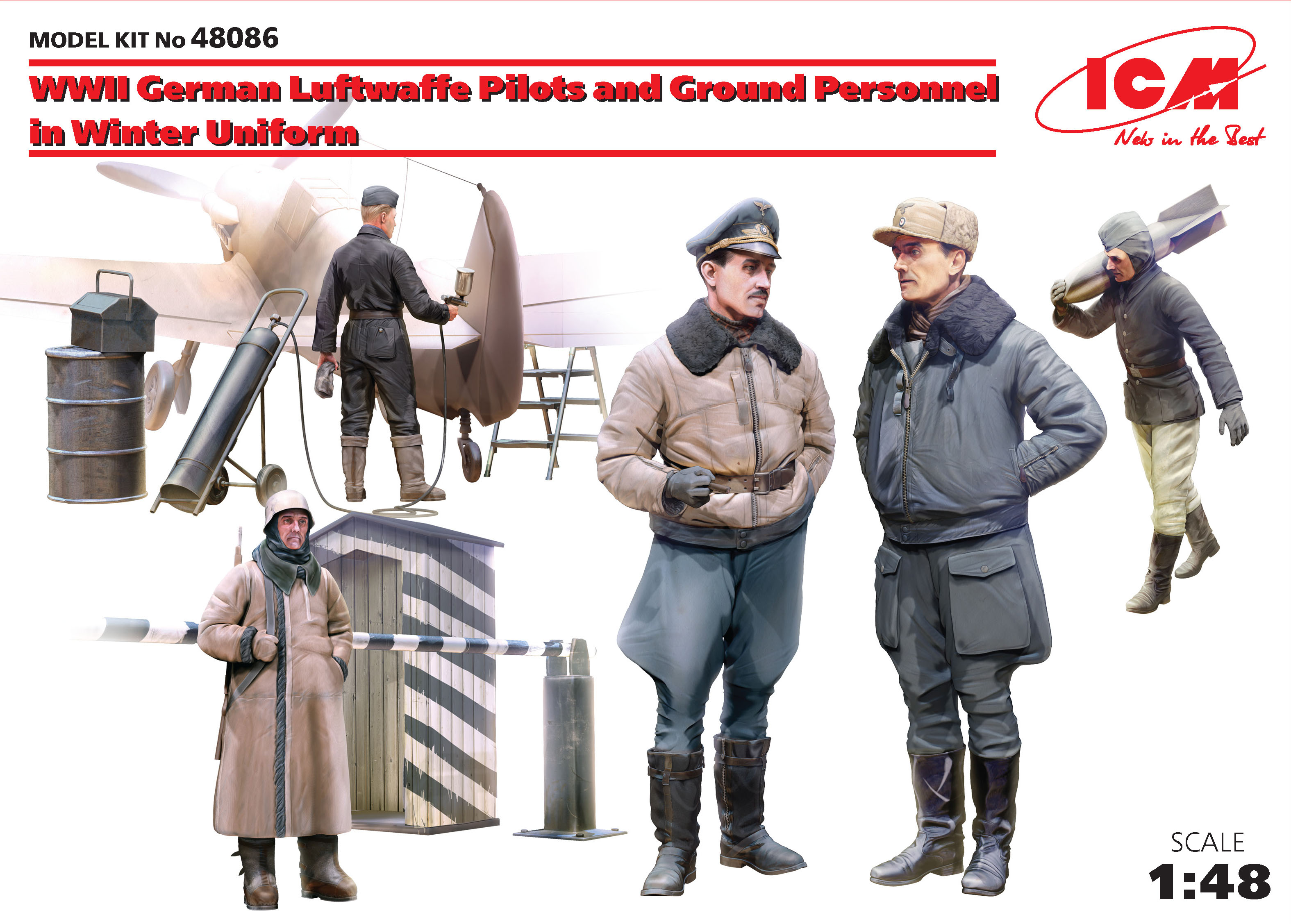 WWII Luftwaffe Pilots and Ground Personnel