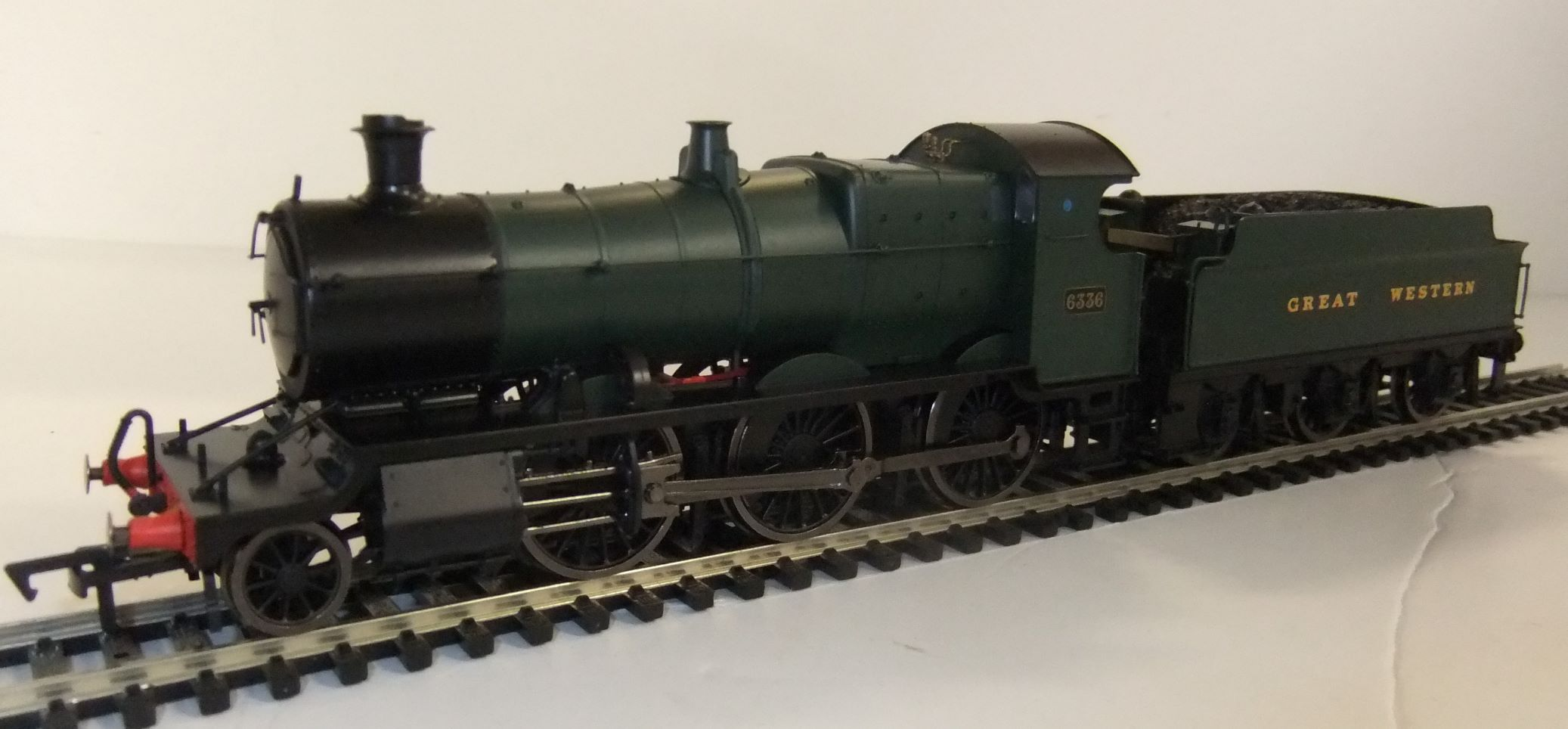 4S-043-001D GWR Mogul no.6336 Green 'Great Western' DCC fitted