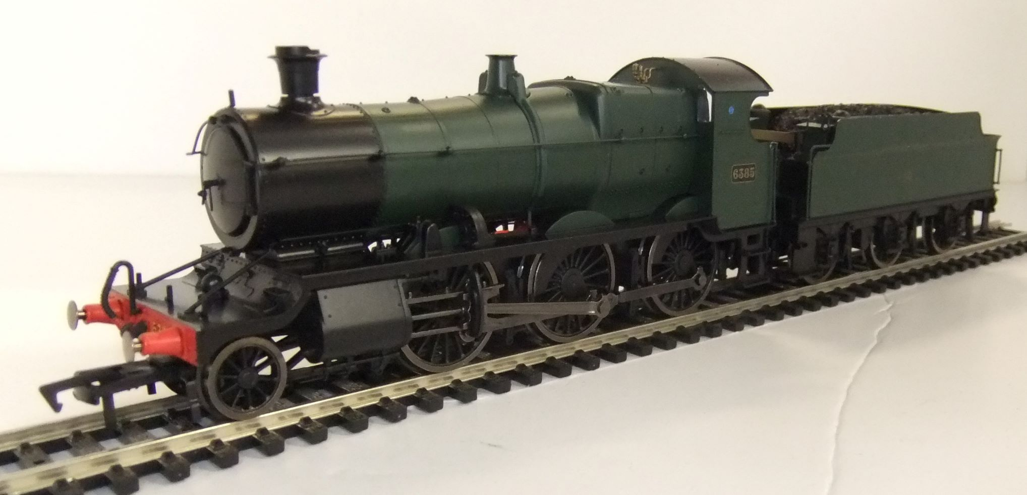 4S-043-002D GWR Mogul no.6385 Green 'Shirtbutton' DCC fitted