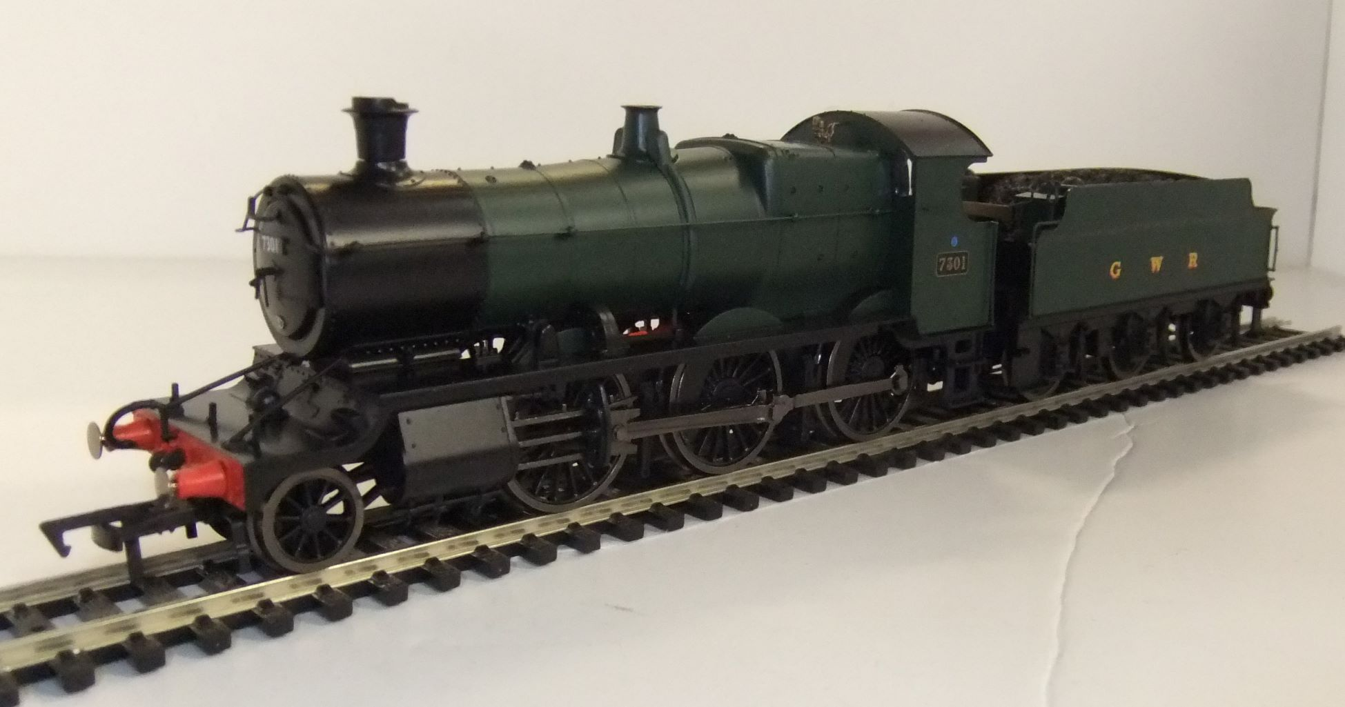 4S-043-003D BR Mogul no.7301 Green with GWR on tender DCC fitted
