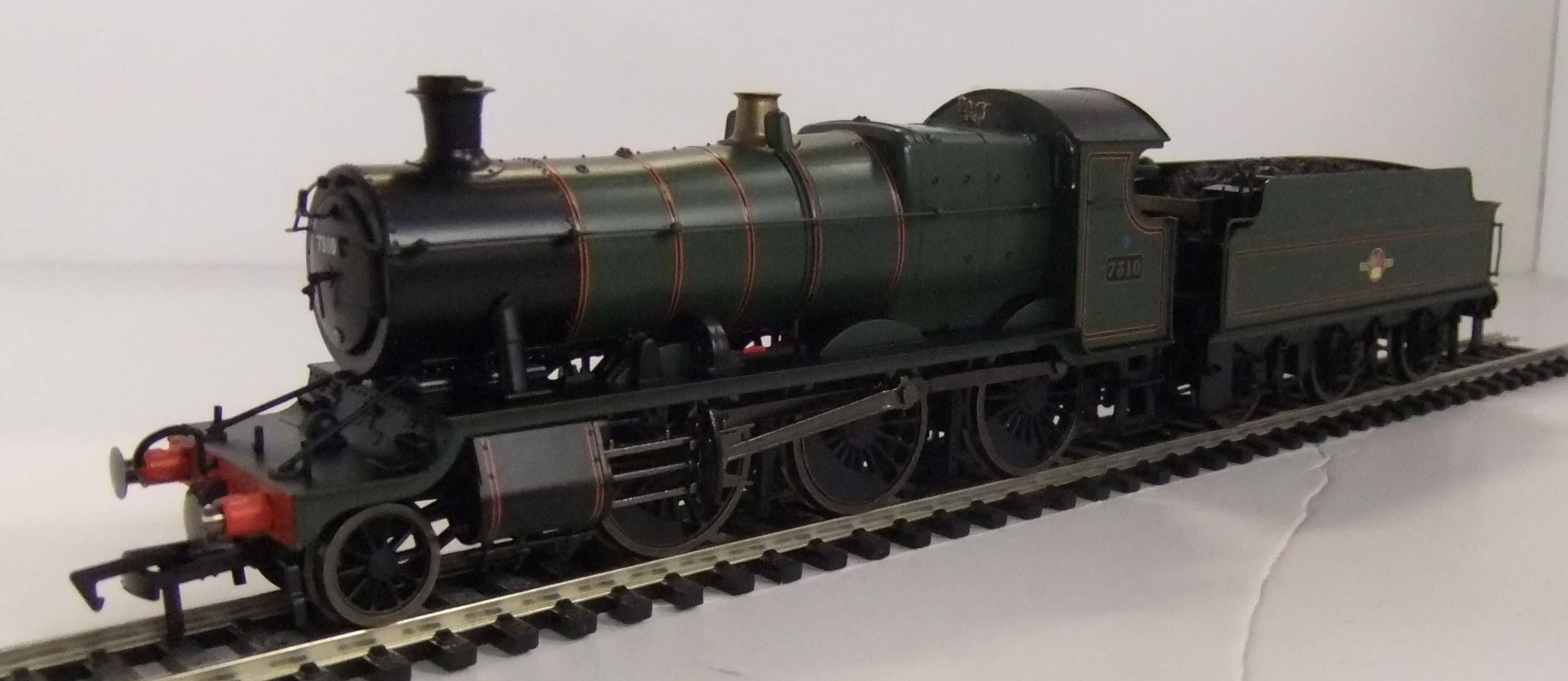 4S-043-006D BR Mogul no. 7310 Lined green late crest DCC fitted