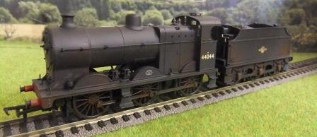 31-884 Class 4F BR Late Crest (Weathered)