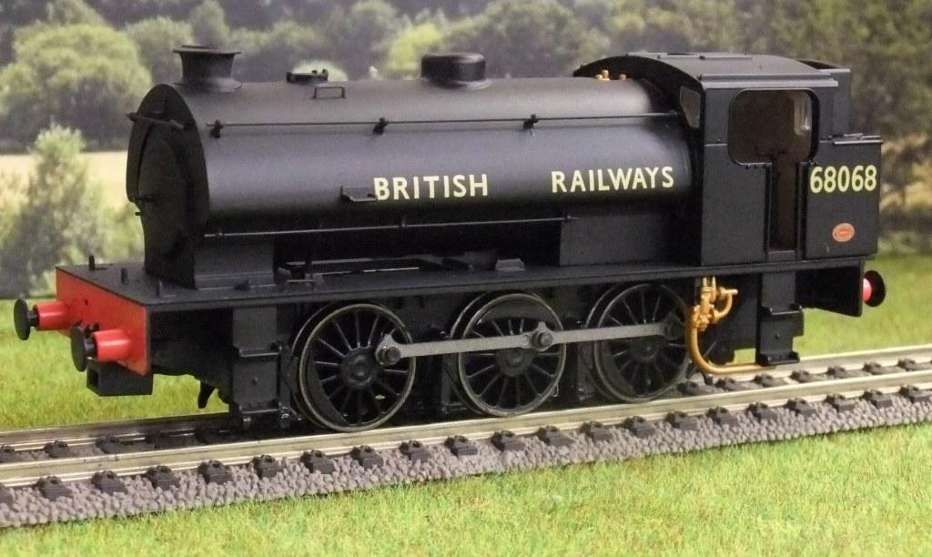 DJMOOJ94-005 J94 BR Black 'British Railways' Tall Bunker