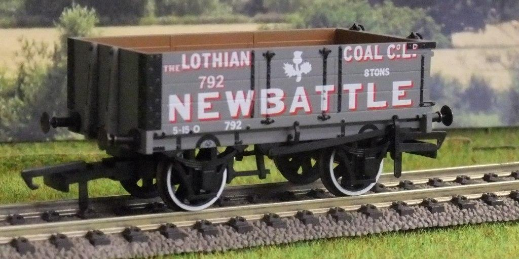 OR76MW4005 Lothian Coal Co. 4 Plank Wagon