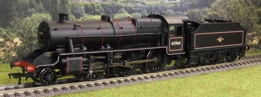 31-692 Stanier Mogul BR Lined Black Late Crest (Preserved)