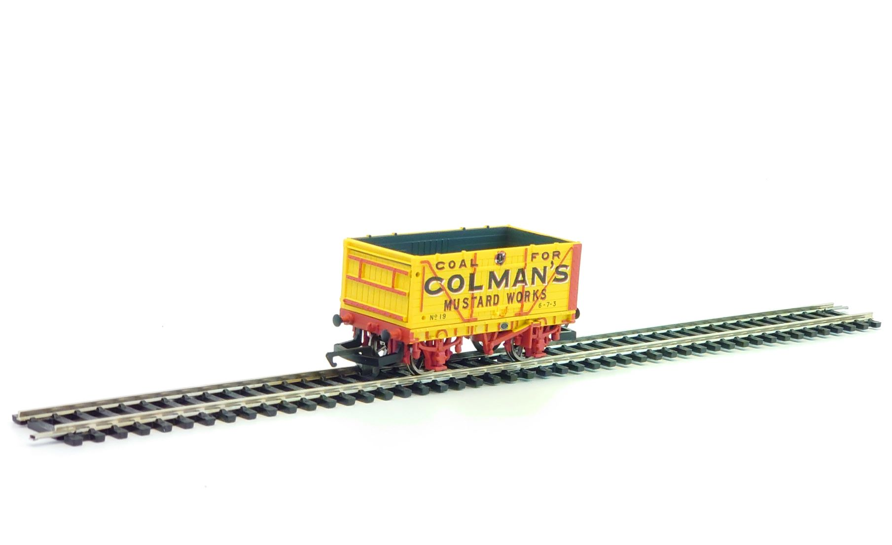 R6345 End Tipping Wagon 'Colemans'