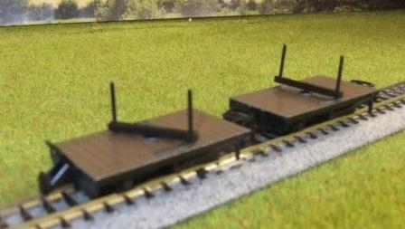 GR-310 Twin pack bolster wagons