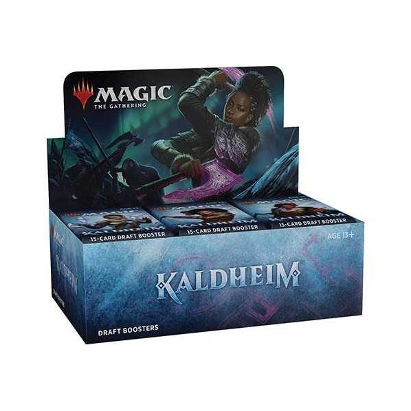 MTG: Kaldheim Draft Booster - Click Image to Close