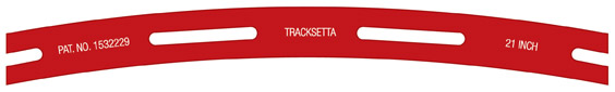 Tracksetta 533mm (21in) Radius