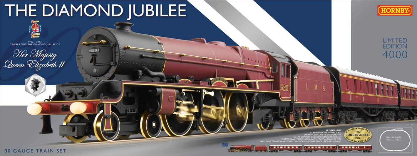 R1170 The Diamond Jubilee trainset