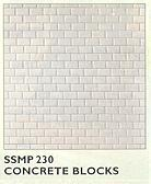 SSMP230 Concrete Blocks